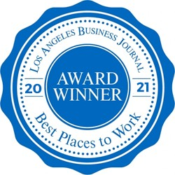 Seal of Los Angeles Best Places to Work 2020